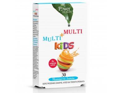 Power Health Multi+Multi Kids Παιδικό Πολυβιταμινούχο Συμπλήρωμα Διατροφής 30 δισκία