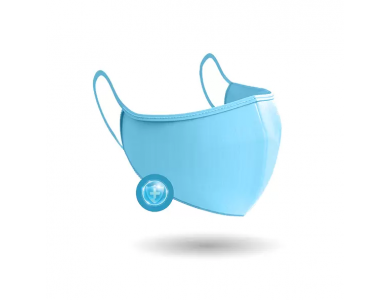 Power Health Παιδική Υφασμάτινη Μάσκα Πολλαπλών Χρήσεων Μπλε 1 τεμάχιο
