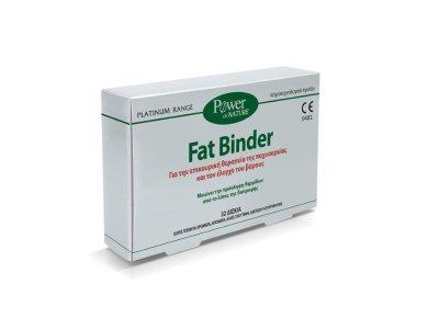 Power Health Platinum Range Fat Binder, Επικουρική Θεραπεία της Παχυσαρκίας & Έλεγχος Βάρους, 32tabs