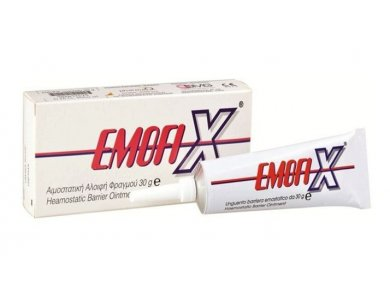EMOFIX OINTMENT TUB Αιμοστατική Αλοιφή φραγμού 30gr