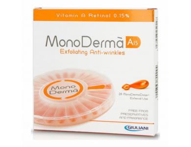 Pharmaq MonoDerma A15 Καθαρή Βιταμίνη A σε μονοδόσεις, 28 ambs