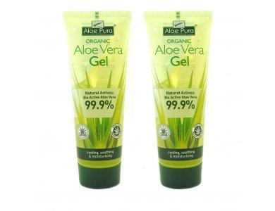Optima Promo Aloe Vera Gel 99.9% 2x100ml 2τμχ -50% στο 2ο προϊον