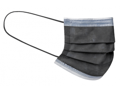 CSMED Χειρουργική Μάσκα Χρώμα Urban Grey (Γκρι της Πόλης), Τύπου IΙR ΕΛΟΤ EN 14683+AC, 1τμχ