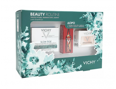 Vichy Set Slow Age 50ml + Δώρο Vichy Double Glow Peel Mask 15ml + Δώρο Liftactiv Glyco-c 2ml