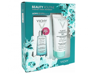 Vichy mineral 89 booster προσώπου 50ml & ΔΩΡΟ Purete thermale Γαλάκτωμα καθαρισμού 100ml