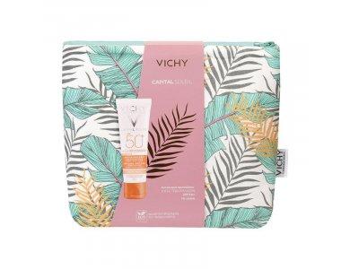 Vichy Promo Capital Soleil Anti-Dark Spots SPF50+ 50 ml Με Δώρο Νεσεσέρ