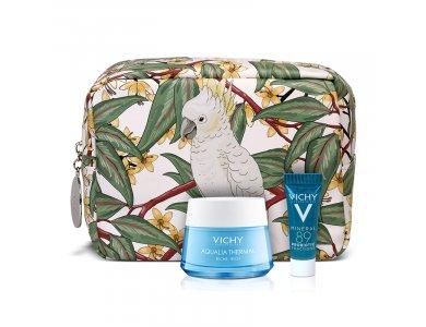 Vichy Set Aqualia Thermal Rich Cream 50ml +Δώρο Mineral 89 Probiotic 5ml +Δώρο Πρακτικό Νεσεσέρ 1τμχ