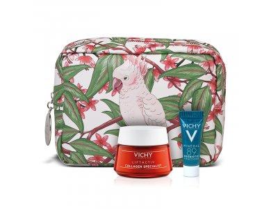 Vichy Set Liftactiv Collagen Spesialist 50ml +Δώρο Mineral 89 Probiotic 5ml +Δώρο Πρακτικό Νεσεσέρ 1τμχ