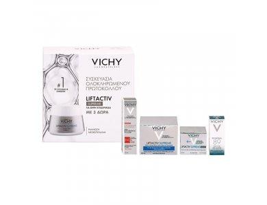 Vichy Promo Liftactiv Supreme για Ξηρή Επιδερμίδα 50ml & Δώρο Mineral 89 & Epidermic Filler & Κρέμα Νύχτας