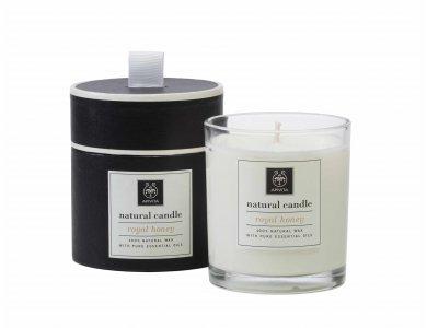 Apivita Natural Candle με Βασιλικό Μέλι 235g
