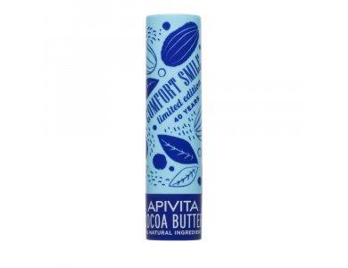 Apivita Limited Edition Lip Care με Βούτυρο Κακάο SPF20 4.4gr