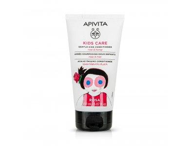 Apivita Kids Conditioner με Τριαντάφυλλο και Μέλι 150ml