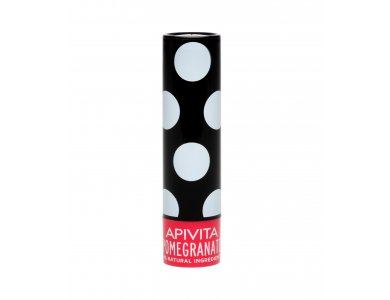 Apivita LipCare Black Pomegranate Ενυδατικό Lip Care με Ρόδι, 4,4gr