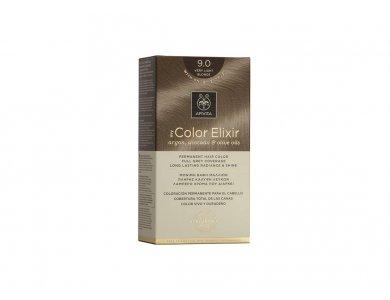 Apivita My Color Elixir kit Μόνιμη Βαφή Μαλλιών 9.0 ΞΑΝΘΟ ΠΟΛΥ ΑΝΟΙΧΤΟ