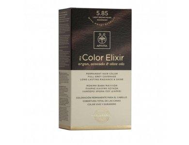 Apivita My Color Elixir Βαφή Μαλλιών, 5.85 (Καστανό Ανοιχτό Περλέ Μαονί)