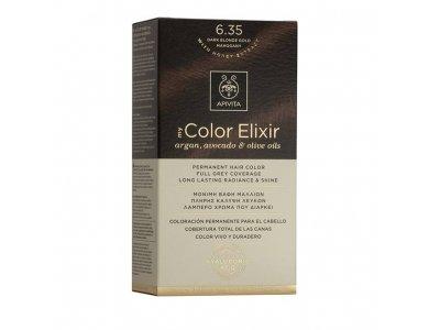 Apivita My Color Elixir 6.35 Βαφή Μαλλιών Ξανθό Σκούρο Μελί Μαονί