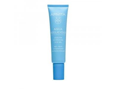 Apivita Aqua Beelicious, Δροσιστικό Gel Ενυδάτωσης για τα Μάτια, 15ml