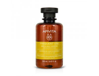 APIVITA - Απαλό Σαμπουάν Καθημερινής Χρήσης με χαμομήλι & μέλι - 250ml