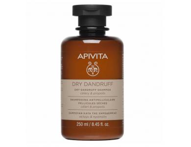 Apivita Dry Dundruff Shampoo Celery & Propolis, Σαμπουάν Κατά της Ξηροδερμίας Σέλερι & Πρόπολη, 250ml