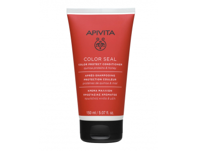 Apivita Color Seal, Κρέμα Μαλλιών Προστασίας Χρώματος με Κινόα & Μέλι, 150ml