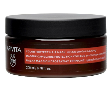 Apivita Color Protect with Quinoa & Honey, Μάσκα Μαλλιών Προστασίας Χρώματος Με  Κινόα & Μέλι, 200ml