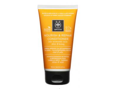Apivita Intense Repair Nourish Contitioner, για Ξηρά Μαλλιά με Ελιά & Μέλι, 150ml