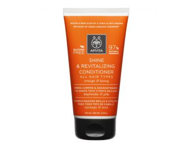 Apivita Shine & Revitalizing Conditioner με Πορτοκάλι & Μέλι, 150ml