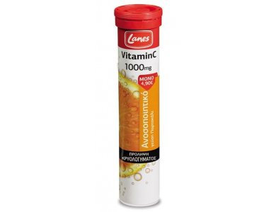 Lanes Vitamin C 1000mg 20 αναβράζοντα δισκία