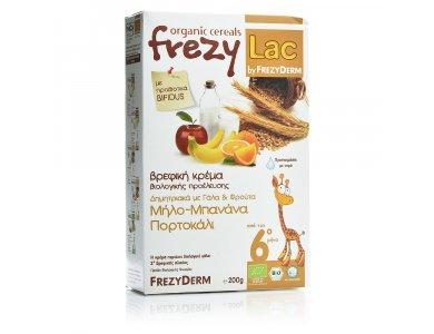 FREZYLAC BIO CEREAL Δημητριακά με Γάλα & Φρούτα 200gr