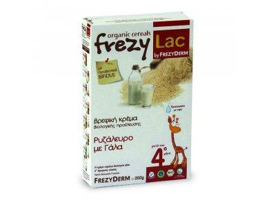 FREZYLAC BIO CEREAL Βιολογική κρέμα ρυζάλευρο, γάλα 200gr