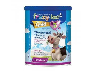 Frezyderm Frezylac Gold 3 Βιολογικό Αγελαδινό Βρεφικό Γάλα, 900gr