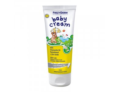 FREZYDERM BABY CREAM Αδιάβροχη Προστατευτική Κρέμα για Βρέφη 175ml