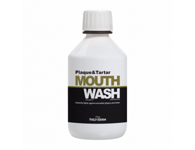 Frezyderm Mouthwash Plaque & Tartar Φθοριούχο Στοματικό Διάλυμα Κατά της Πλάκας & Πέτρας 250ml