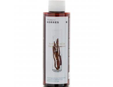 Korres Σαμπουάν για Λιπαρά Μαλλιά με Γλυκύρριζα & Τσουκνίδα 250ml