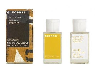 Korres Άρωμα white-tea - bergamot - freesia 50ml
