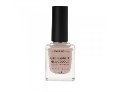Korres Gel Effect Nail Colour With Sweet Almond Oil No.31 Sandy Nude 11ml