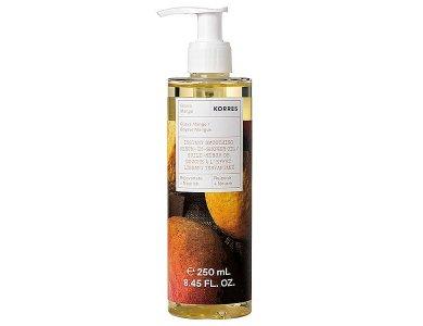 Korres Guava Mango Instant Smoothing Serum in Shower oil, Ενυδατικός Ορός Σώματος με Υφή Ελαίου, 250ml