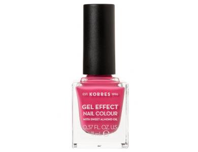 Korres Gel Effect 20 Pink Parfait Rose, Βερνίκι Νυχιών, 11ml