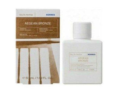 Korres Aegean Bronge Eau De Parfum Γυναικείο Άρωμα του Αιγαίου, 50ml