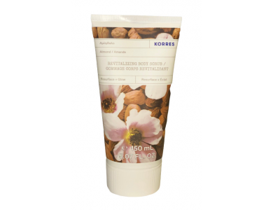 Korres Revitalizing Body Scrub Almond, Απολεπιστικό Σώματος Αμύγδαλο, 150ml