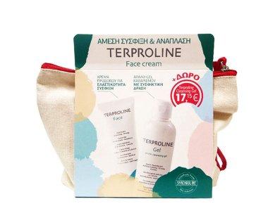 Synchroline Terproline Face Cream Αντιρυτιδική Κρέμα Προσώπου 50ml + Cleansing Gel Καθαρισμού Προσώπου 200ml
