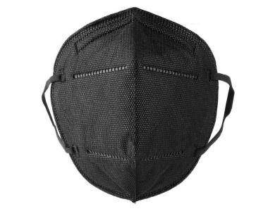 Μάσκα Προστασίας KN95 FFP2 Black Χωρίς Βαλβίδα, 1τεμ