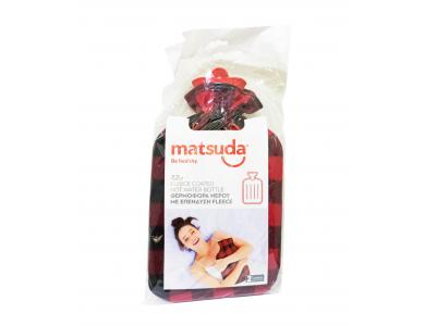 Matsuda Θερμοφόρα Νερού με Επένδυση Φλις Καρό 2,2lt