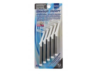 Intermed Chlorhexil Interdental Brushes Μεσοδόντια Βουρτσάκια M 1.2mm, 5τμχ
