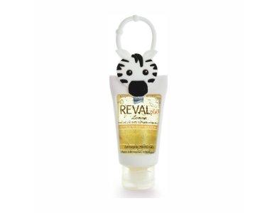 Intermed Reval Plus Antiseptic Hand Gel Lemon, Αντισηπτικό Τζελ Χεριών Λεμόνι Ζέβρα, 30ml