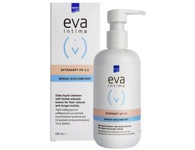 Intermed Eva Intima Extrasept PH3.5 Minor Discomfort Υγρό Καθημερινού Καθαρισμού Ευαίσθητης Περιοχής με Φυσική