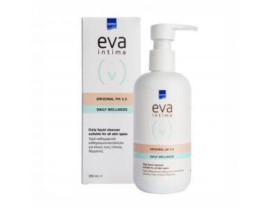 Intermed Eva Intima Original PH3.5 Daily Wellness Υγρό Καθημερινού Καθαρισμού της Ευαίσθητης Περιοχής, 250ml