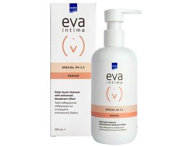 Intermed Eva Intima Special PH3.5 Period Υγρό Καθημερινού Καθαρισμού Ευαίσθητης Περιοχής με Ενισχυμένη Αποσμητ