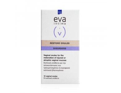 Intermed Eva Restore Ovules Disorders, Επουλωτικός παράγοντας του κολπικού βλεννογόνου, 10τμχ