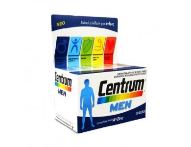 CENTRUM MEN Complete form A to Zinc 30TABS
